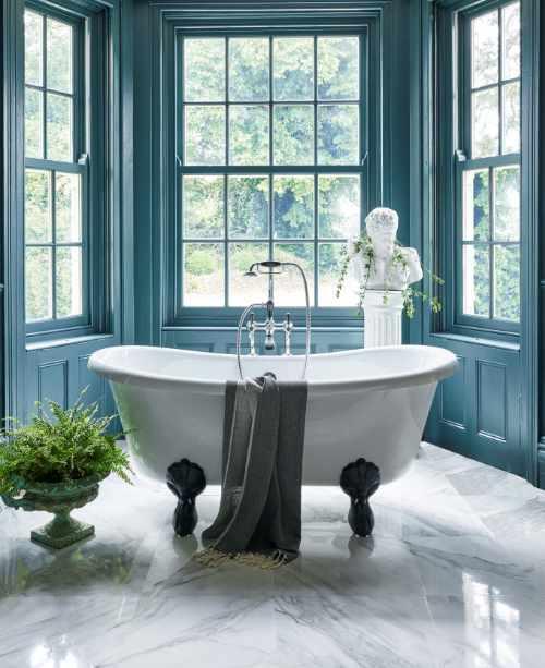 Burlington - Bateau double ended bath with luxury claw feet
