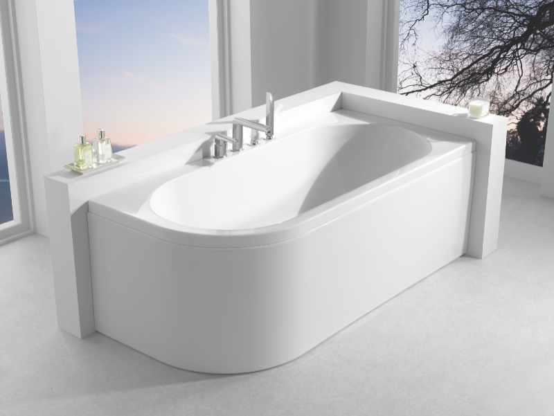Carron - Status double ended corner bath