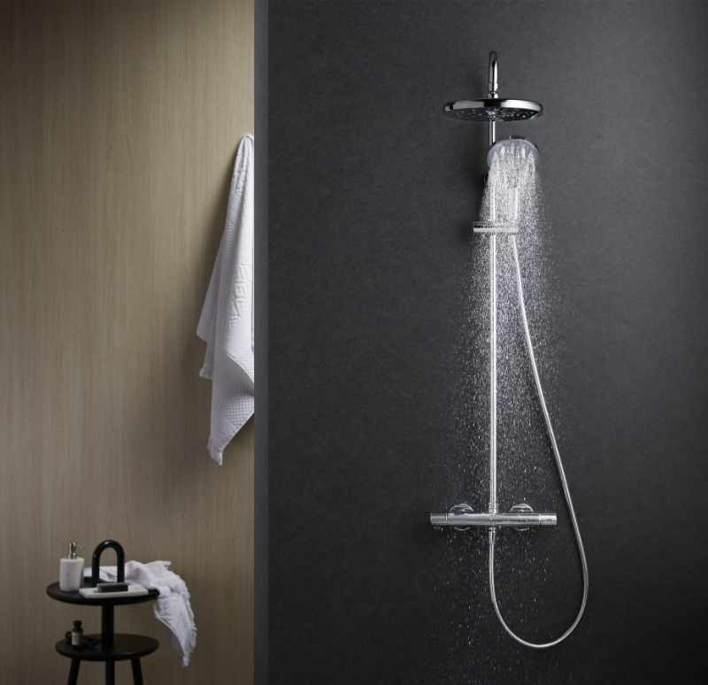 Methven - Kaha cool to touch bar shower with diverter