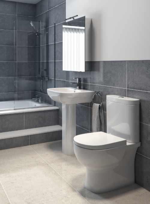 Q4 - RAK Kala basin, pedestal and close coupled WC