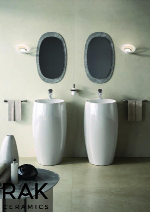 RAK Ceramics - Cloud free standing wash basin
