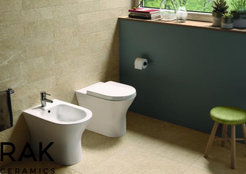 RAK Ceramics - Resort back to wall pan and bidet