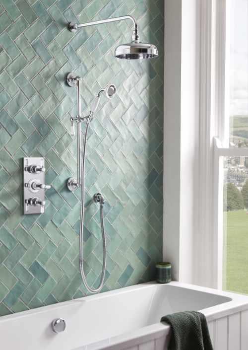 Roper Rhodes - Keswick concealed shower system