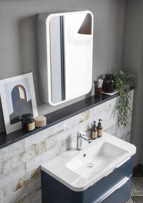 Roper Rhodes - System mirrored cabinet