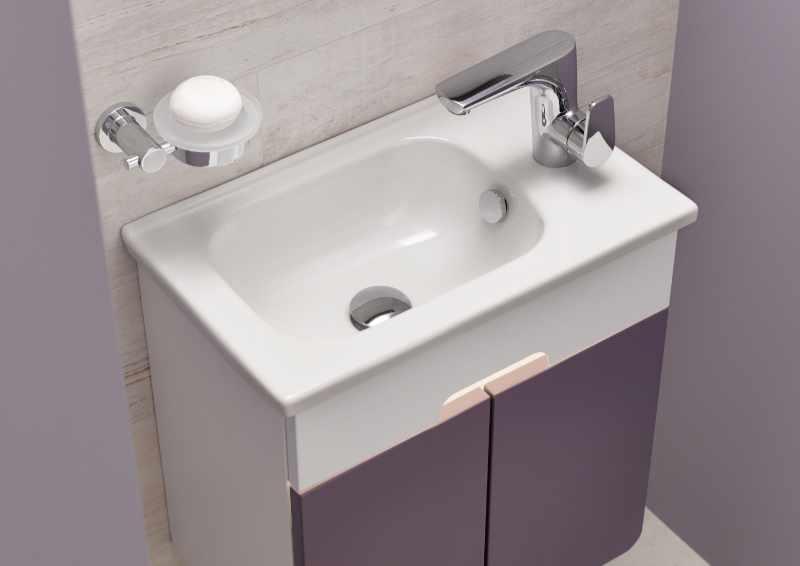 VitrA - D-light washbasin and unit
