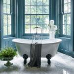 Burlington Bateau double-ended bath with luxury claw feet
