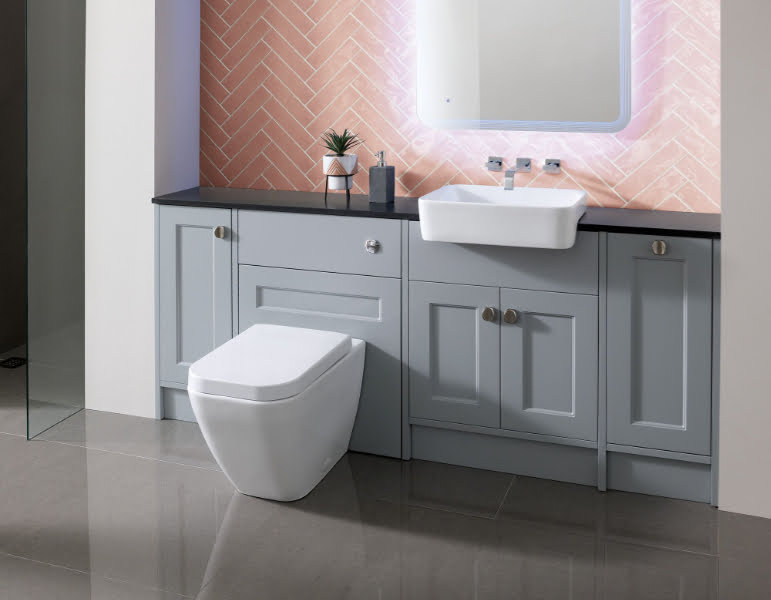 Calypso - fitted furniture Pentland Shale
