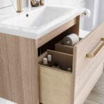 Crosswater - MPRO brushed brass basin mono