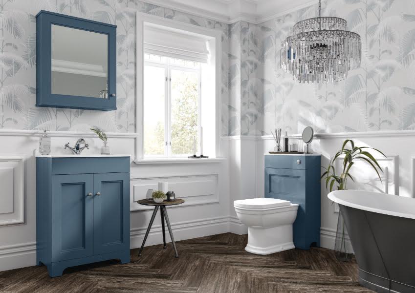 HiB - Kingsbury floor standing bathroom vanity unit