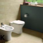 RAK Ceramics - Resort back-to-wall pan and bidet