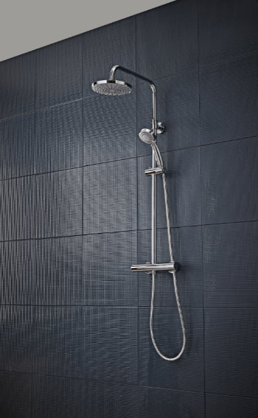 Tavistock - Merit dual exposed thermostatic shower