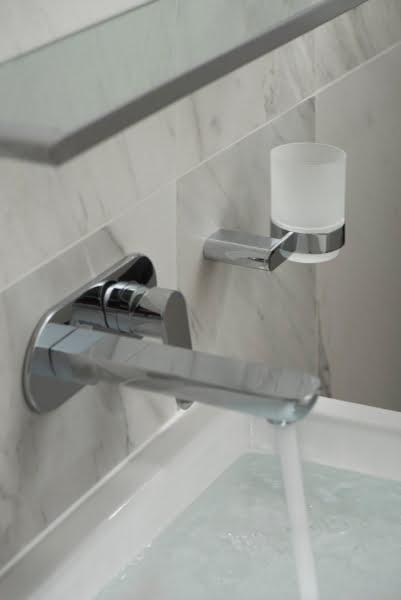 Vado - Phase wall mounted basin mixer