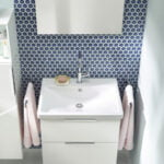 Vitra - Ecora wall-hung bathroom unit