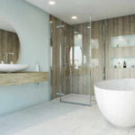 Multipanel - Heritage collection delano oak and kew gloss with white diamond click flooring